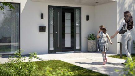 Uși cu izolație termică aspect elegant